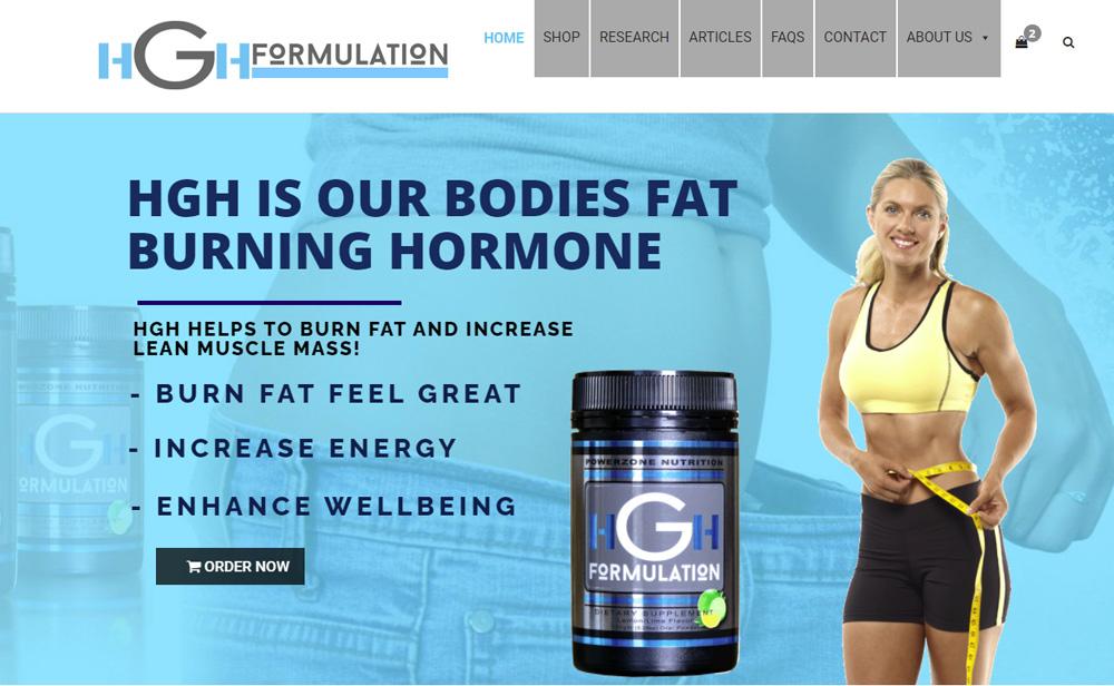 HGh Formulation Website